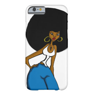 afro sister iPhone 6 case Barely There iPhone 6 Case