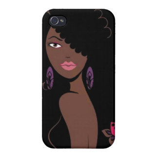 Afrocentric Beauty iPhone 4 Case