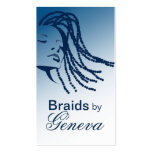 Afrocentric Braids Hair Stylist - blue