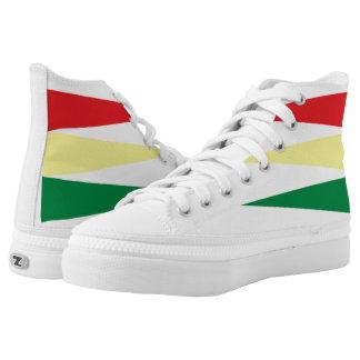 Afrocentric ImaBoss Shoes, US Men/ US Women High Tops