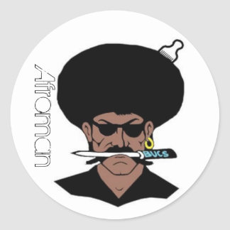 Afroman Stickers (Large)
