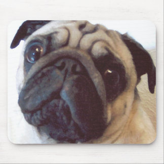 After: Photo Art Pug Mouse Pad