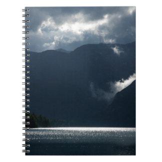 After storm light notebooks