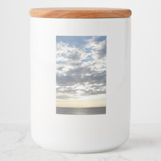 After Storm Sea & Sky Food Container Label