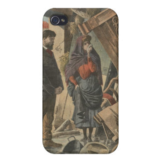 After the disaster fro 'Le Petit Journal' iPhone 4 Case