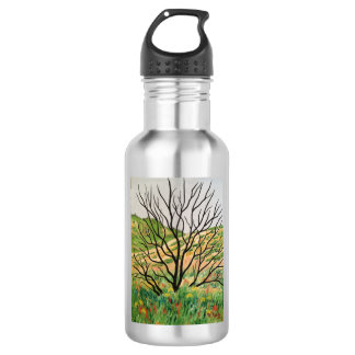 """""""After the Fire"""" Stainless Steel Water Bottle"""
