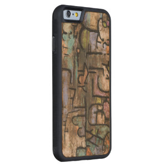 After The Flood by Paul Klee Carved Maple iPhone 6 Bumper Case