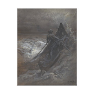After the Shipwreck by Gustave Doré Canvas Print