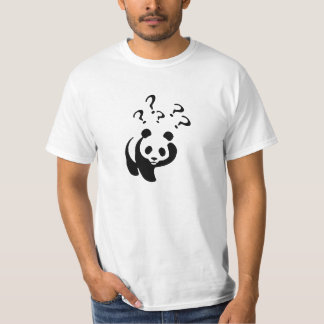 After The Shock - Panda Confused T-Shirt