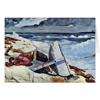 After The Tornado By Homer Winslow (Best Quality) Card