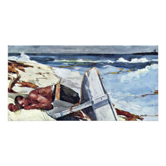 After The Tornado By Homer Winslow (Best Quality) Customized Photo Card