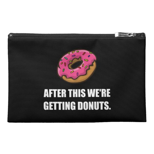 After This Getting Doughnuts Travel Accessory Bag
