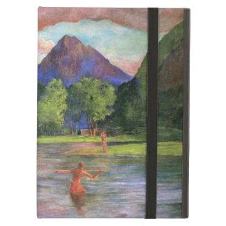 'Afterglow, Tautira River, Tahiti' - John LaFarge Cover For iPad Air