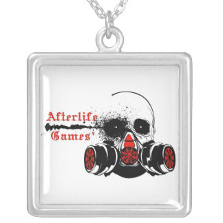 Afterlife Games Logo Personalized Necklace