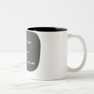Afterlife Two-Tone Coffee Mug
