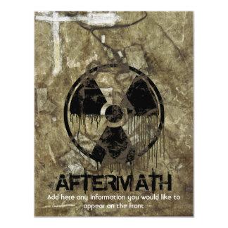 Aftermath 11 Cm X 14 Cm Invitation Card