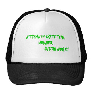 AFTERMATH SKATE TEAM MEMBER                    ... TRUCKER HAT