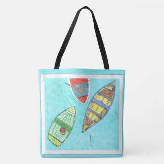 Afternoon Boats Rest Tote Bag