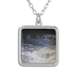 Afternoon Enchantment Silver Plated Necklace