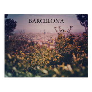 AFTERNOON IN BARCELONA POSTCARD