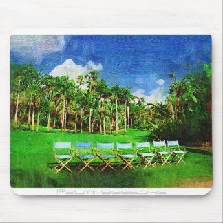 Afternoon in the garden - Tropical Collection, ... Mouse Pads