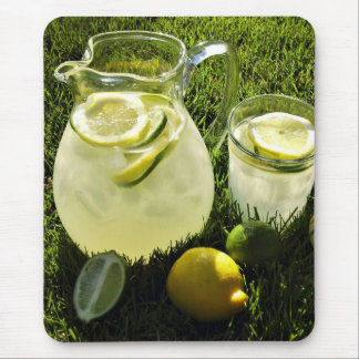 Afternoon Lemonade Mouse Pad