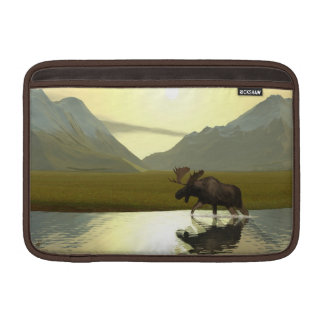 Afternoon Moose Sleeve For MacBook Air