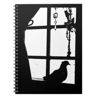 Afternoon Pigeon Spiral Notebook