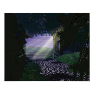 Afternoon Rays Poster