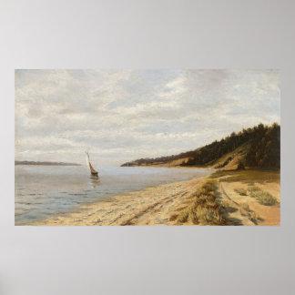 Afternoon Sailing - John F. Peto Posters