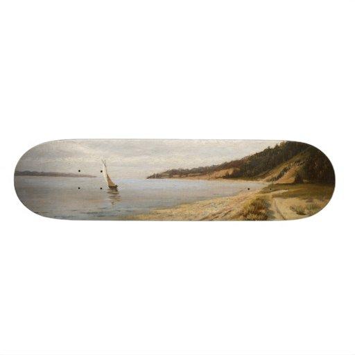 Afternoon Sailing - John F. Peto Skate Board