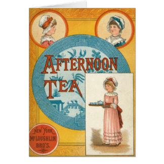 Afternoon Tea Greeting Cards Zazzle.com.au