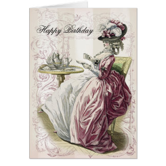 Afternoon Tea, Happy Birthday, Card