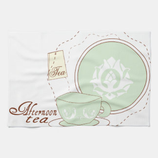 Afternoon Tea Tea Towel