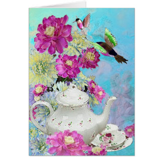 Afternoon Tee Card