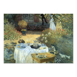 Afteroon Tea Party Impressionism Art Bridal Shower Card