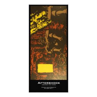 """""""Aftershock"""" Value Bookmarks Rack Card"""