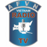 AFVN - American Forces Vietnam Network Standing Photo Sculpture