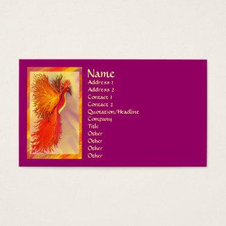 Again Phoenix w/border business card