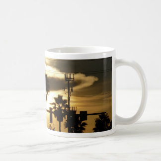 Against A Golden Sky Coffee Mugs