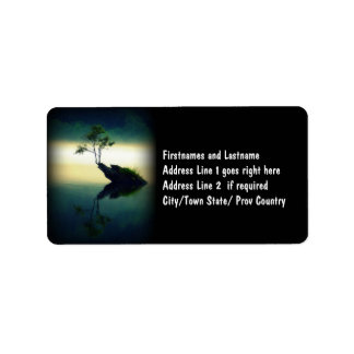 Against All Odds - Beautiful Tree Photograph Address Label
