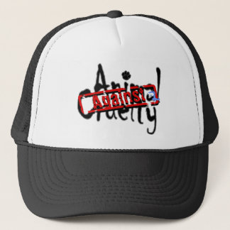Against Animal Cruelty Hat