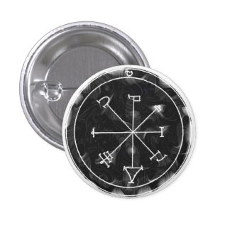 Against Charms and Evil Spirits 3 Cm Round Badge