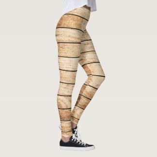 Against the Grain Wood Panel Leggings