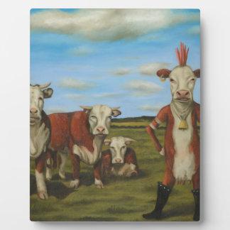 Against The Herd Plaque