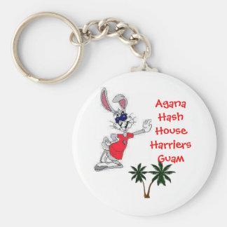 Agana Hash House Harrier... Basic Round Button Key Ring