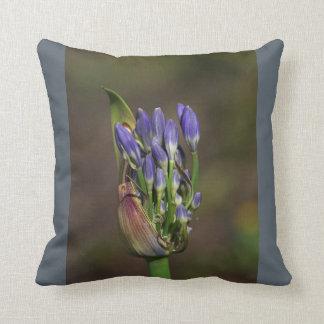 Agapanthus Dream Pillow by bubbleblue