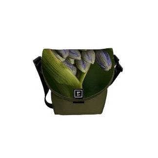 Agapanthus Flower Bud Mini Messenger Bag