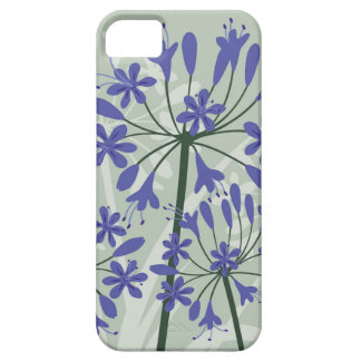 Agapanthus Flowers from Cornwall iPhone 5 Case