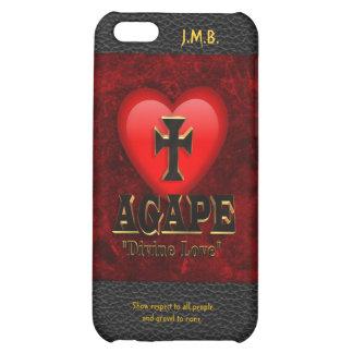 Agape divine love case for iPhone 5C